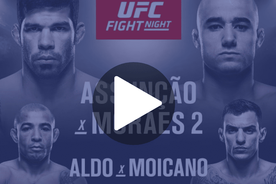 assistir ufc fight night 144 fortaleza ao vivo