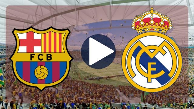 barcelona x real madrid ao vivo online